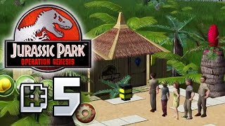 CROWDS!! - Jurassic Park Operation Genesis [ Jurassic Park Month ]