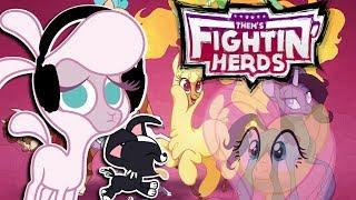 F̶l̶u̶t̶t̶e̶r̶s̶h̶y̶  Pom plays Them's Fightin Herds 🍉 | IT'S POM PLAYS NOW thumbnail