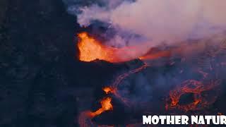 Erupting volcano hawaii || volcano eruption yellowstone || erupting volcano today