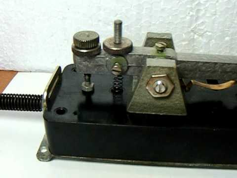 Telegraph Key Morse Code