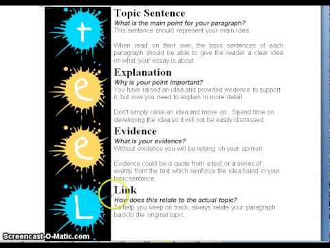 Essay structure meaning
