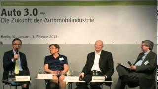 Konferenz Auto 3.0 - Begrüßung und Eröffnungsdiskussion(Auto 3.0 -- Die Zukunft der Automobilindustrie Fachkongress Begrüßung Ralf Fücks, Vorstand Heinrich-Böll-Stiftung (Zusage) Matthias Wissmann, Präsident ..., 2013-02-07T12:28:37.000Z)