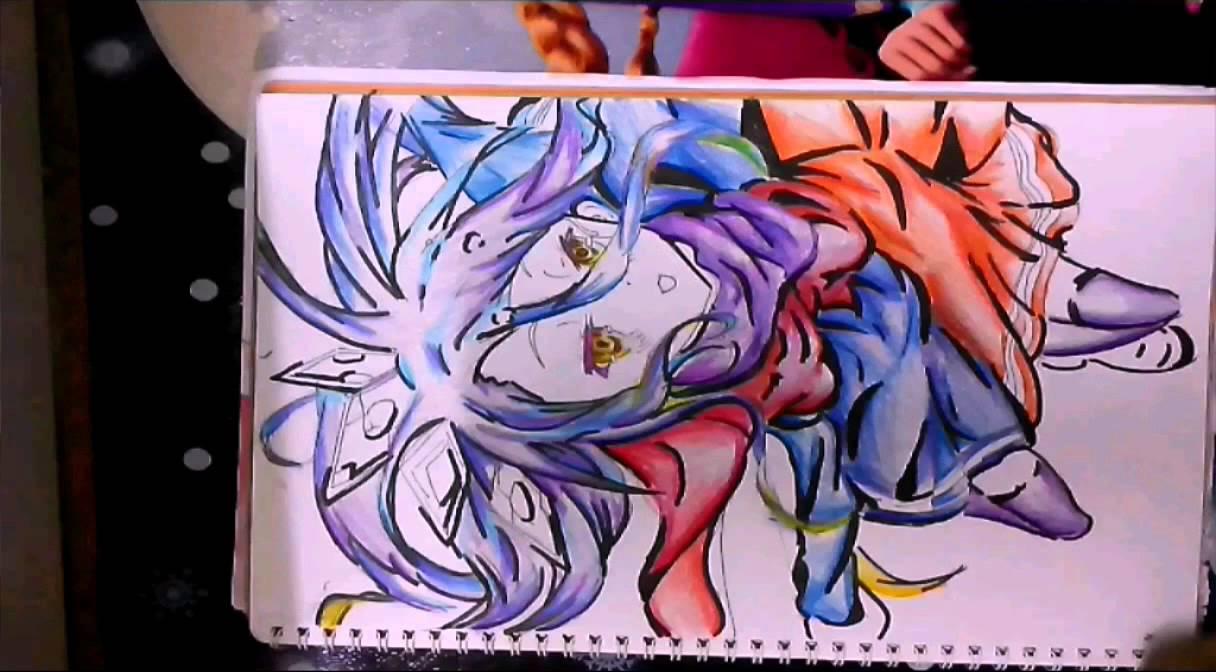 Drawing Shiro~No Game No Life