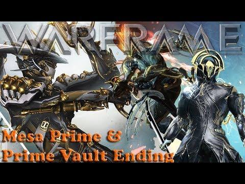 Warframe - Mesa Prime & Prime Vault Ending thumbnail