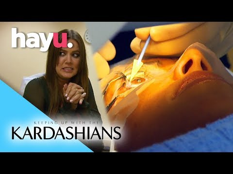 Kim Goes Under The Laser | Keep Up With The Kardashians