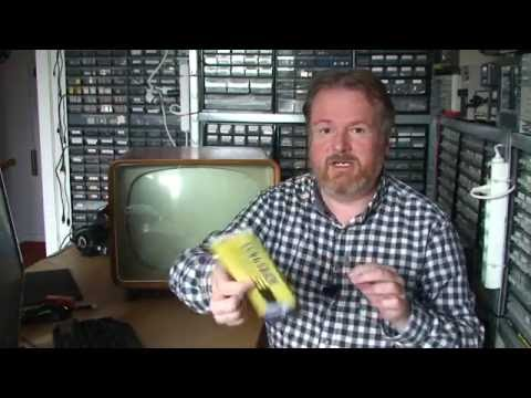 Vblog#14 - Wow a small retro Tube Television, from Sweden!
