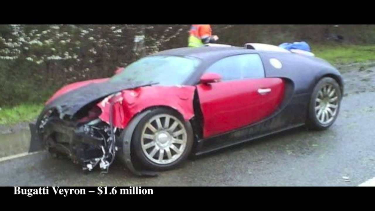 Top 10 Most Expensive Car Crash In The World [HD]   YouTube
