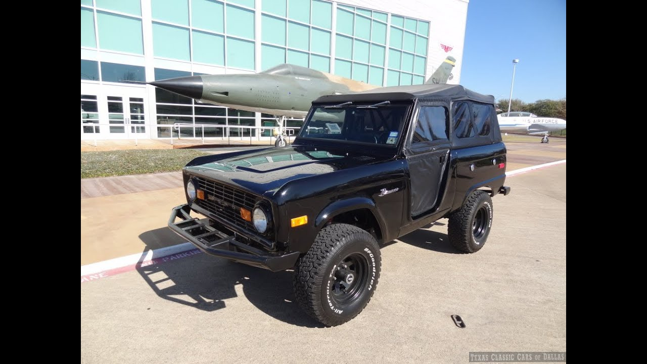 1975 Ford Bronco 4 Wheel Drive 4x4