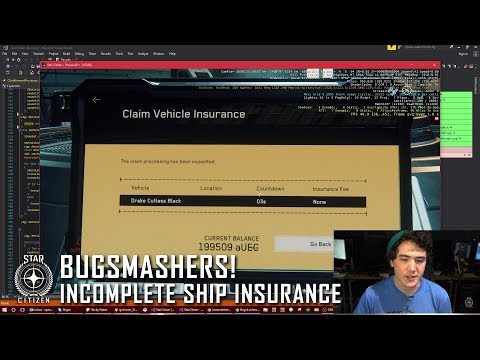 Star Citizen: Bugsmashers - Incomplete Ship Insurance