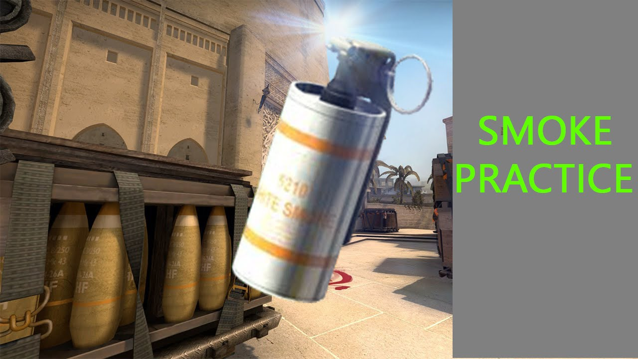 How to setup a server for smoke grenade practice!