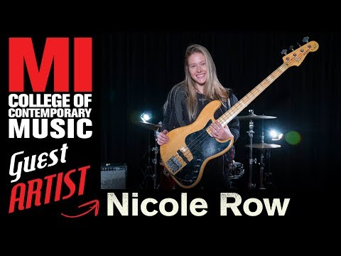 """Nicole Row (Panic! At The Disco) on MI: """"Everything You Want To Learn Is Here"""""""