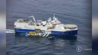 Māori sailor sends message to seismic testing ship