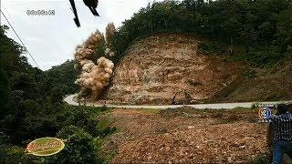 ระเบิดภูเขา-ถ-สายแม่สอด-ตาก-หลังเกิดรอยร้าว-ชาวบ้านไม่รู้ขับรถมาใกล้-ทำรถติดหนัก