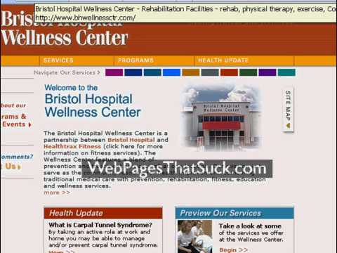 Bristol Health Center's website still sucks