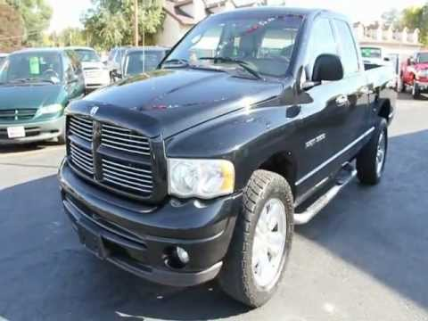 2002 Dodge Ram 1500 4x4 Sport Heated Leather 20in Wheels