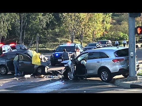 Nhiều tai nạn xe trong ngày Thanksgiving ở Orange County