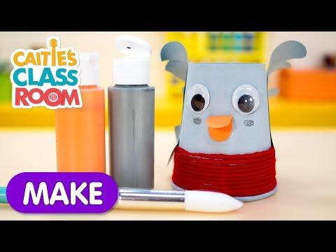 """Make A """"Little Robin Redbreast"""" Craft! - Caitie's Classroom"""