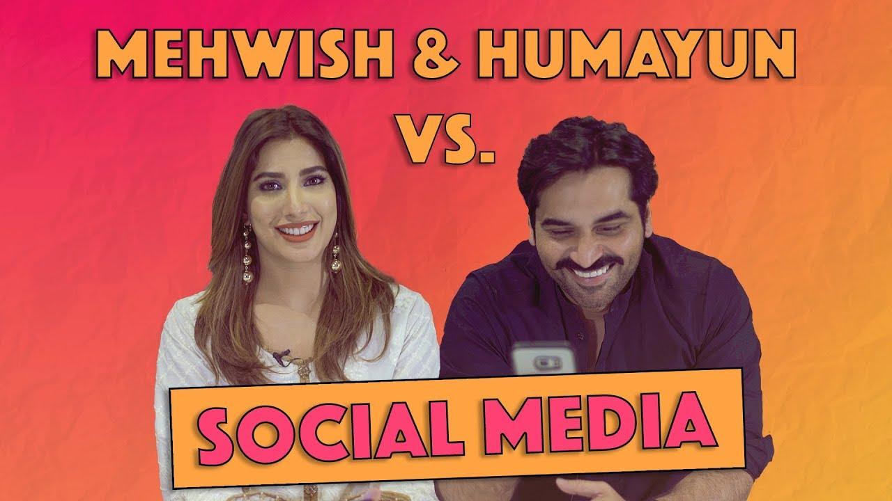 Humayun Saeed & Mehwish Hayat Versus Social Media | MangoBaaz