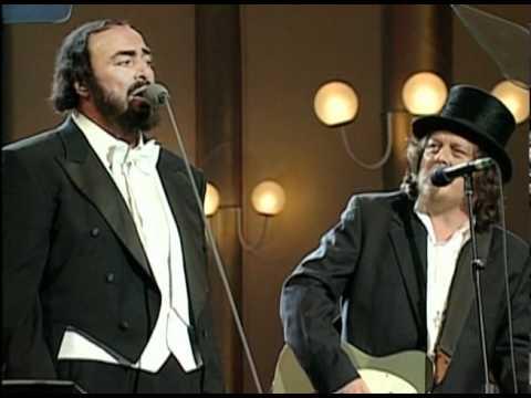 Zucchero @ Pavarotti Va Pensiero  Pavarotti Zucchero Cambodian Tibetan Children Choir