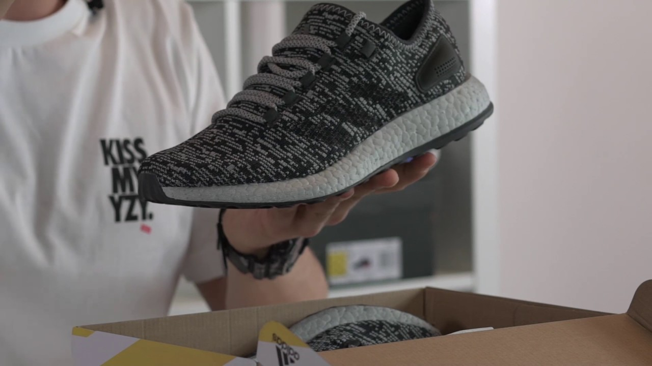 check out 42676 b017f adidas Pure Boost 2 Unboxing  Review
