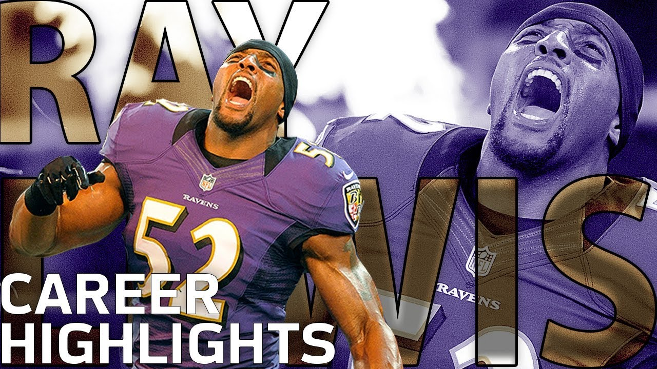 cheap for discount d8975 568bd Ray Lewis' INSANE Career Highlights | NFL Legends Highlights