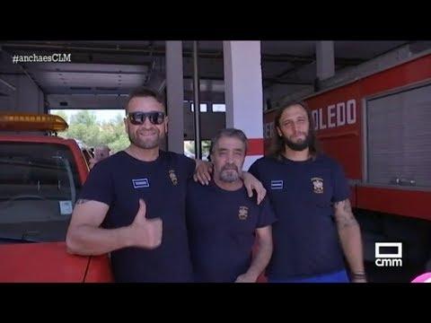 Un día con el Cuerpo de Bomberos de Toledo