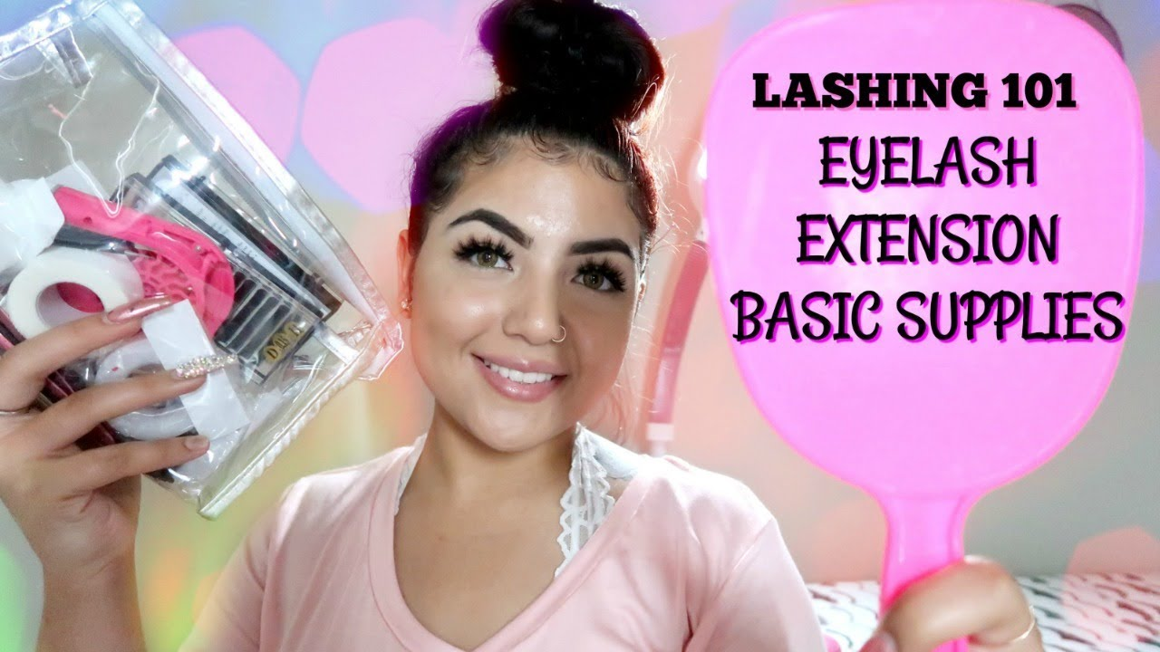 LASHING 101 WITH BELINDA | EYELASH EXTENSION SUPPLIES