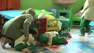 Latihan Evakuasi Mandiri TK ABA Bogoran Bantul