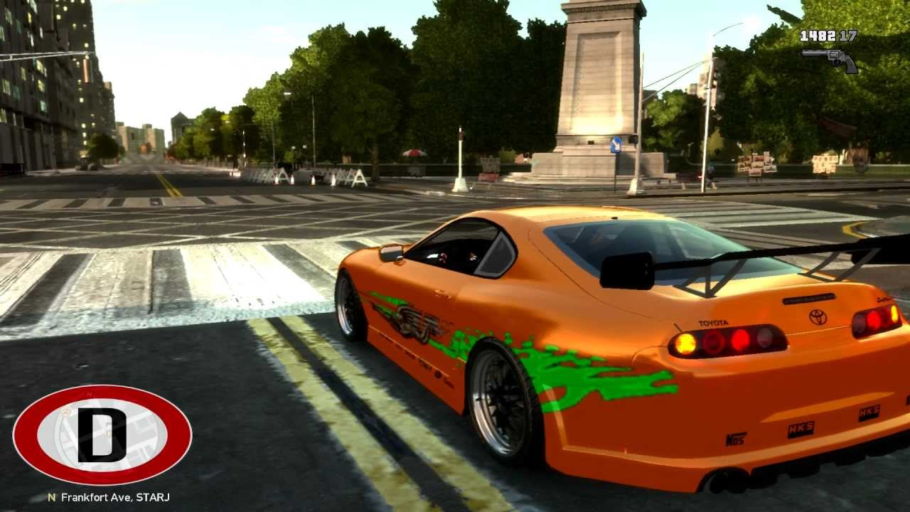 Gta 4 Fast And Furious 1000hp Toyota Supra Sound
