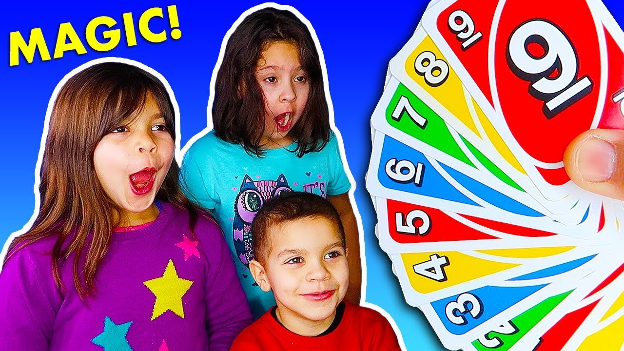3 Magic Tricks with Cards for Kids - YouTube