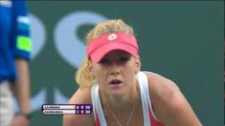Urszula Radwanska 2013 BNP Paribas Open Hot Shot
