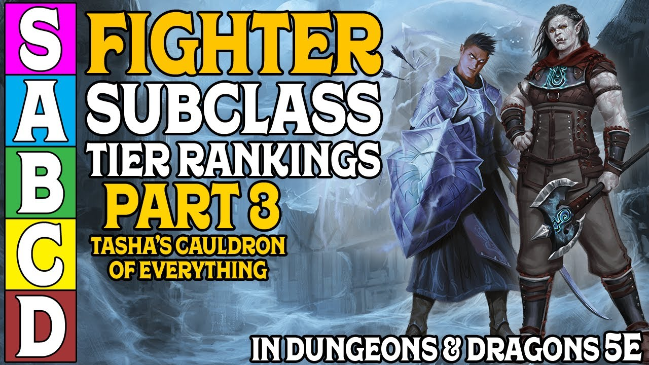 Fighter Subclass Tier Rankings (Part 3) In Dungeons and Dragons 5e