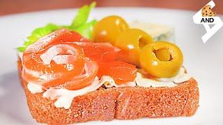 44 Бутерброды С Сёмгой Из Чёрного Хлеба Простые Вкусные Быстрые Рецепты VANDA culinary