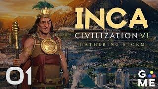 inca deity gathering storm civilization 6 lets play episode 1 worthless hype