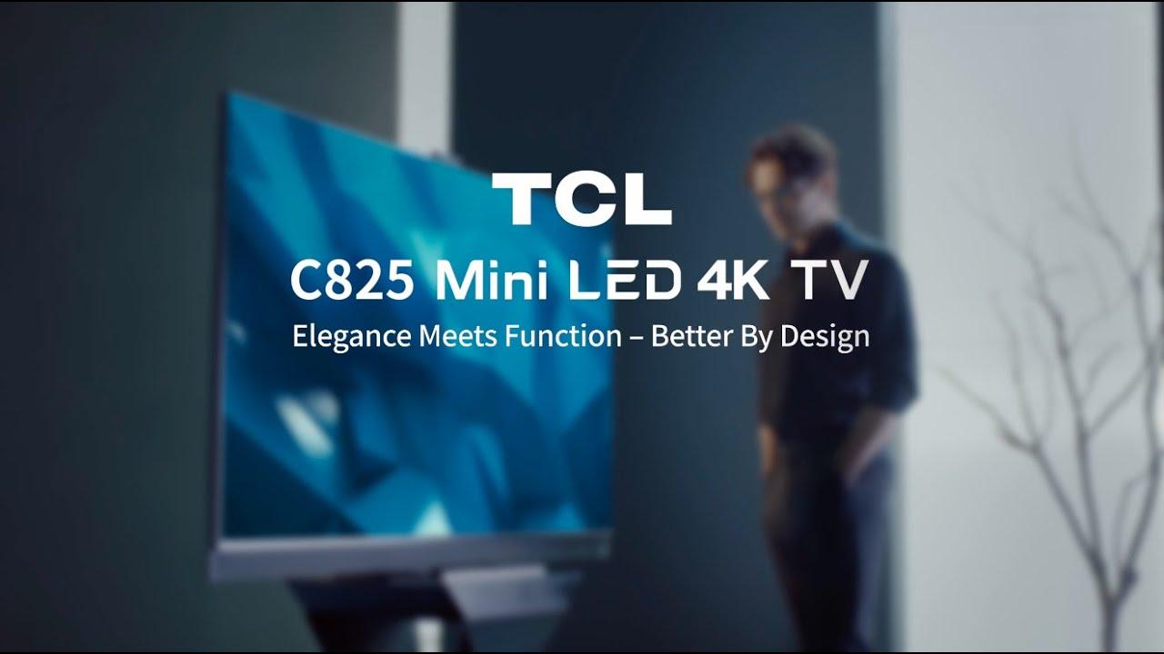TCL C825 MiniLED 4K TV Industrial Design