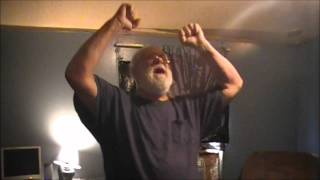 Angry Grandpa PISSED he has to kiss a cat!!