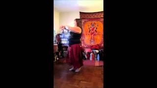 Sacred Shimmy Tribal Bellydance ATS® Drills - Level 3 Combo 9/2014