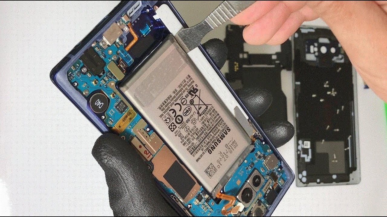How To Replace The Battery On A Samsung Galaxy Note 9