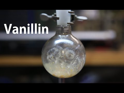 How to extract Vanillin from Vanilla Sugar