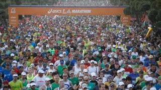 2013 L.A. Marathon in two minutes -- Time Lapse