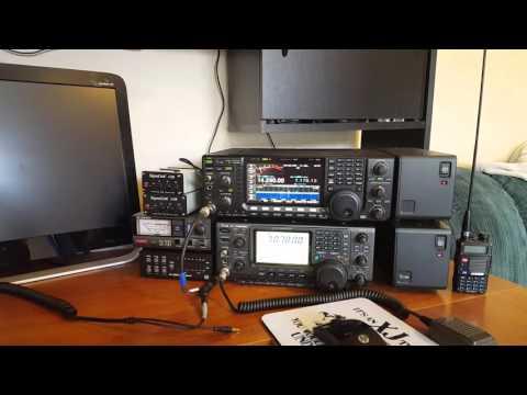 Ham Radio Station at KE0CRP