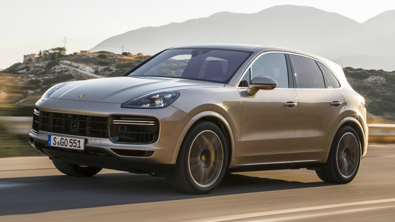 2018 porsche cayenne turbo 550 hp exhaust sound youtube. Black Bedroom Furniture Sets. Home Design Ideas