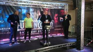 SAVANNAH MARSHALL WEIGH IN FOR FURY NORRAD UNDERCARD