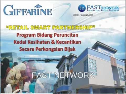 FAST NETWORK : RETAIL SMART PARTNERSHIP WITH GIFFARINE