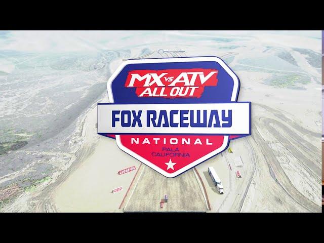 Lucas Oil Pro Motocross Fox Raceway Track Map!