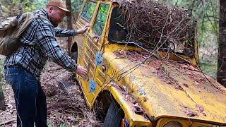 Ed's LJ20 Stuck 40 Yeąrs In The Sierra Nevada Mountains.