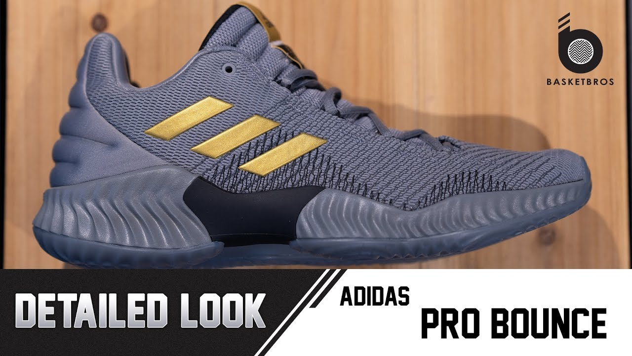 e0f07d3c17d1 TH  Detailed Look - adidas Pro Bounce - YouTube