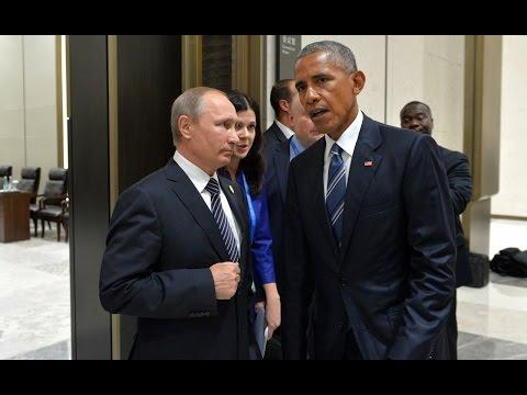 Видео: Путин обронил ШОКИРУЮЩУЮ фразу в закулисье с Обамой. Журналист успел записать 12 секунд