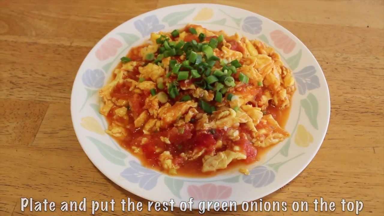 Scrambled eggs with tomatoes youtube scrambled eggs with tomatoes forumfinder Choice Image
