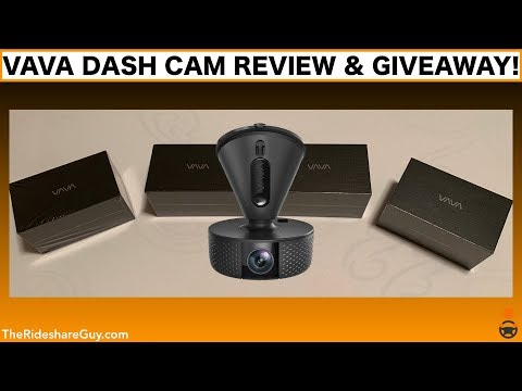 VAVA Dashcam Review & Giveaway!